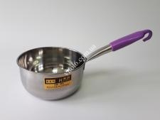 Ковш нерж 18см с пластм ручкой с крючком 2л VT6-19974(90шт)
