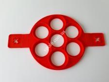 Форма силиконовая для оладьев (7порций)О23*с ручкой40см круглая VT6-20024(150шт)