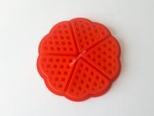 Форма силікон.для випічки вафель (5шт)  Серце 18*18*1,5см VT6-20164(200шт)