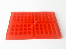Форма силикон.для выпечки вафель(4шт) 28*18*1,5см VT6-20165(100шт)