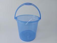 Відро  R-plast  прозоре БЕЗ кришки 12л (10шт)