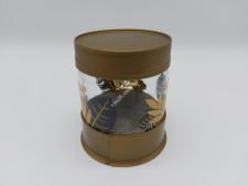 Банка скляна для сипучих  Золотий листок   425мл HN-1425 (24 шт)