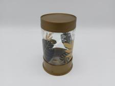 Банка скляна для сипучих  Золотий листок   660мл HN-1426 (12 шт)