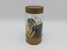 Банка скляна для сипучих  Золотий листок   1л HN-1427 (12 шт)