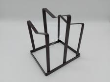 Підставка метал настільна для кришок на 2 відділення 15*13*16 см VT6-20246(24шт)