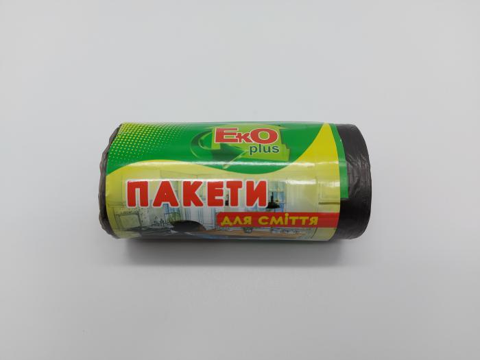 Пакети для сміття 35л* 50шт  Eko Plus  00388   (60шт)