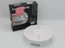 Стійка пластм для торта з обертанням з розмітками 31*7,5см  VT6-20307(20шт)
