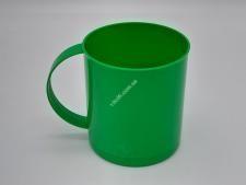 Кружка пласт.цветная 1л  (50шт)